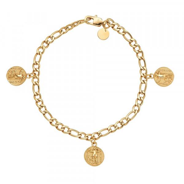 Damen Armband aus Edelstahl, vergoldet (4056874026109)