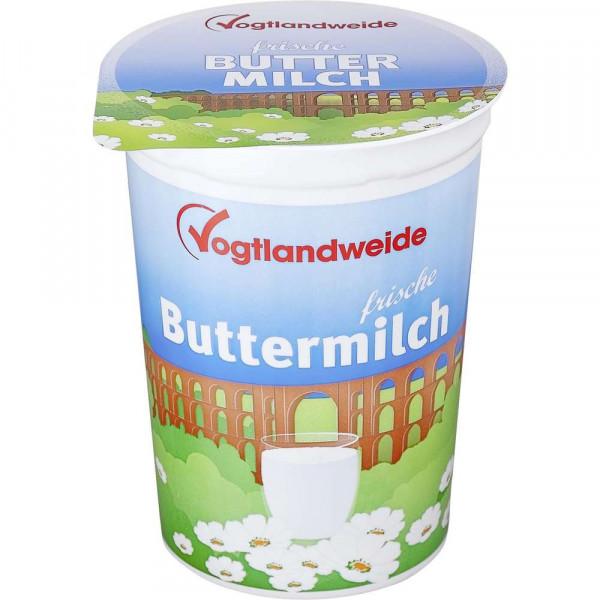 Frische Buttermilch