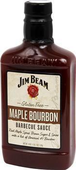 Barbecue-Sauce, Maple Bourbon