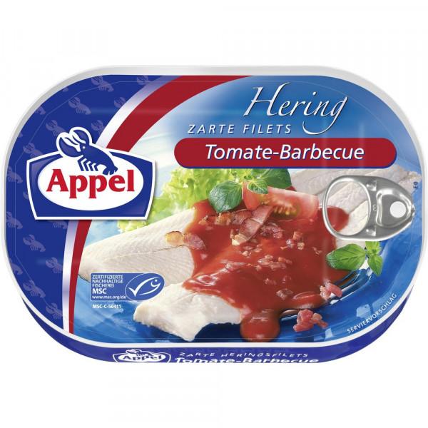 Heringsfilets, BBQ/Tomate