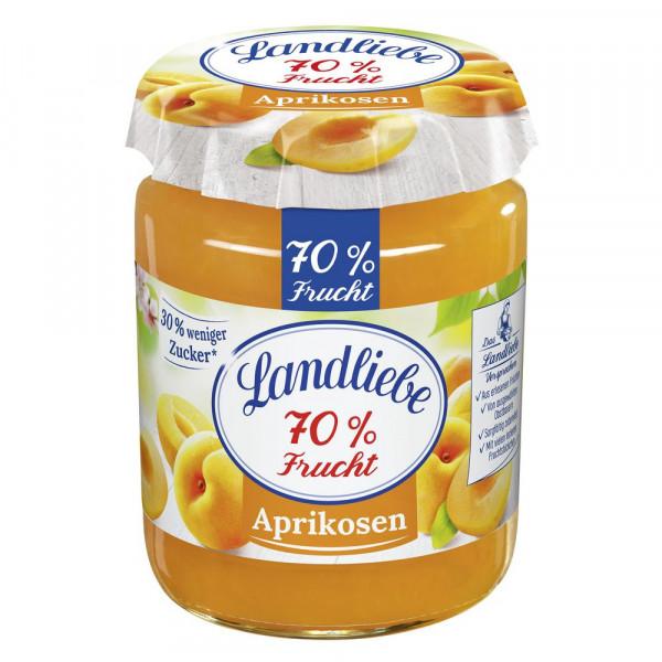 """Fruchtaufstrich """"70% Frucht"""", Aprikose"""