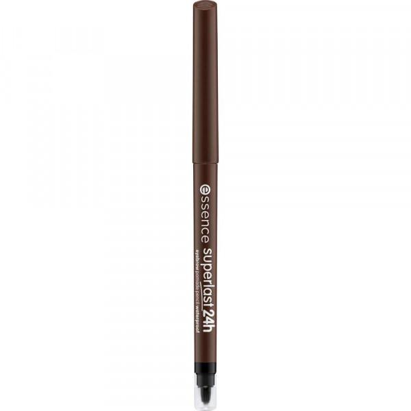 Augenbrauenstift Superlast 24H Eyebrow Pomade Pencil, Dark Brown 030