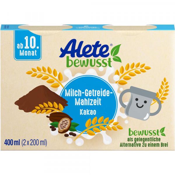 Milch-Getreide-Mahlzeit, Kakao