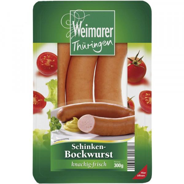 Schinkenbockwurst