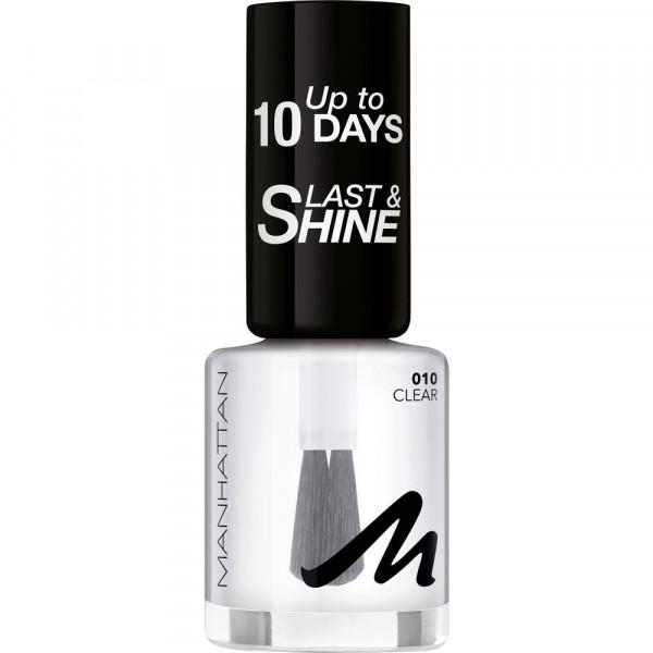 Nagellack Last & Shine, Clear 010