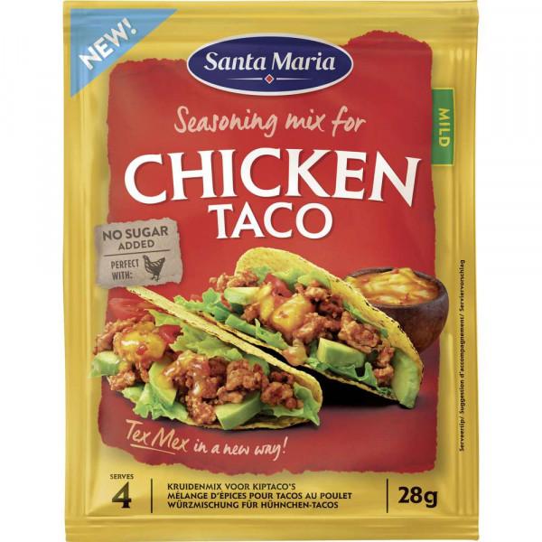 Würzmischung für Hühnchen-Tacos