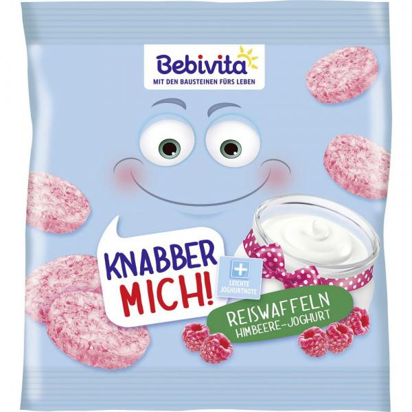 Reiswaffeln, Himbeere-Joghurt