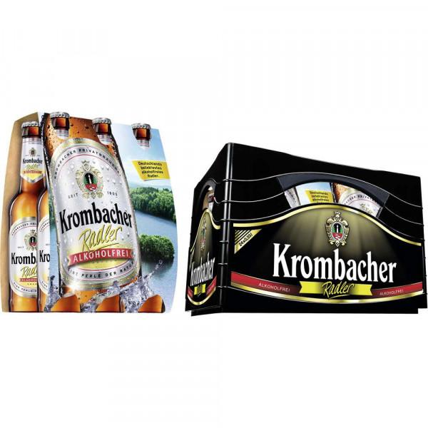 Alkoholfreies Radler(4 Sixpacks in der Kiste zu je 6 x 0.33 Liter)
