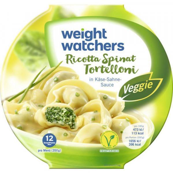 Tortellini, Ricotta-Spinat in Käse-Sahne-Sauce