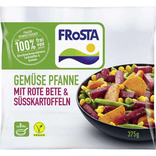 Gemüsepfanne mit Rote Bete & Süßkartoffel, tiefgefroren
