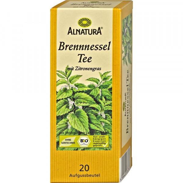 Brennessel Tee mit Zitronengras