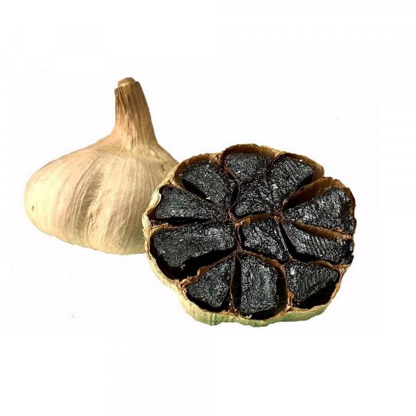 Knoblauch schwarz, Schale