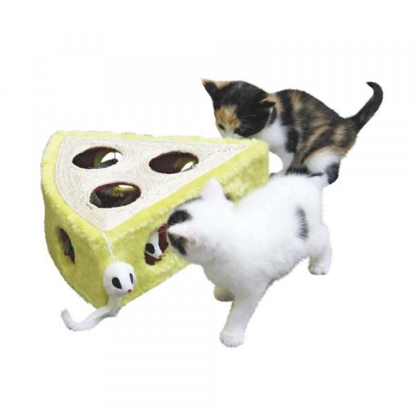 """Katzen Sisalspielzeug """"Cheesy"""", 28x28x10cm"""