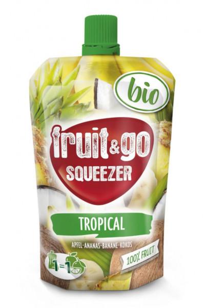 Bio Fruchtdrink Tropical, Apfel-Ananas-Banane-Kokos