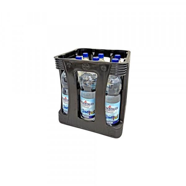 Mineralwasser, Medium (9 x 1 Liter)