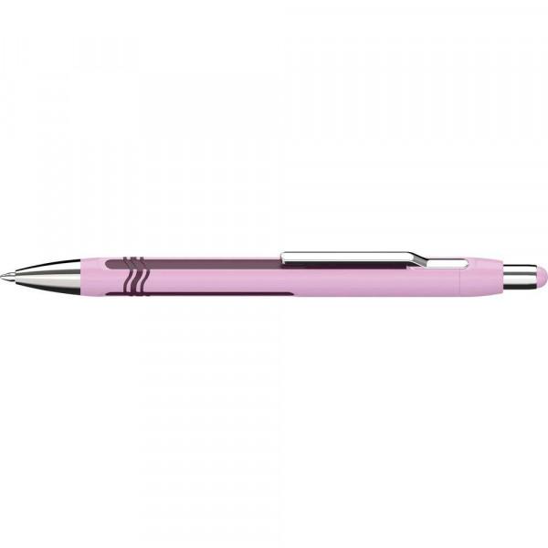 "Kugelschreiber ""Epsilon"" extra breit, rosa-violett"