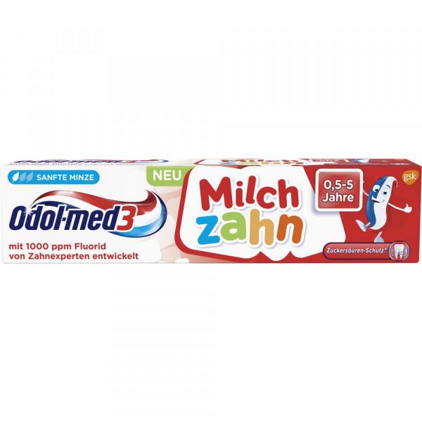 """Kinder Zahncreme """"Milchzahn"""" sanfte Minze, 0,5-5 Jahre"""