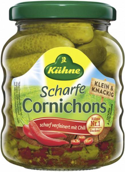 Cornichons, scharf