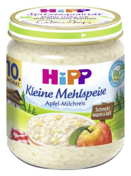 """Babynahrung """"Kleine Mehlspeise"""", Apfel-Milchreis"""
