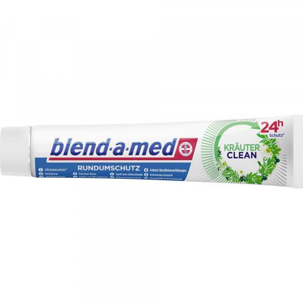 Zahncreme Rundumschutz, Kräuter Clean