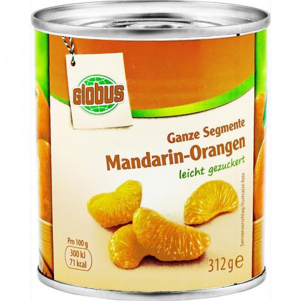 Mandarin-Orangen, leicht gezuckert