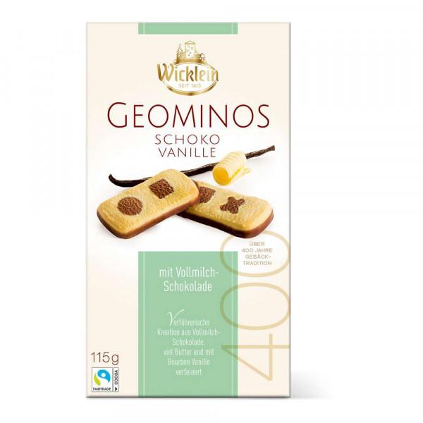 """Kekse """"Geominos"""", Schoko-Vanille"""