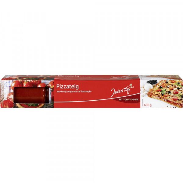Pizzateig mit Tomatensoße
