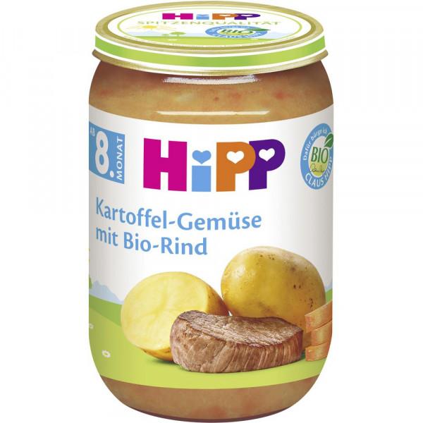 Babynahrung Menü, Kartoffel/Gemüse/Bio-Rind