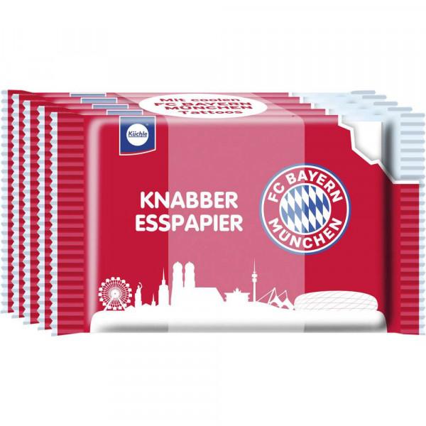 FCB Knabber-Esspapier
