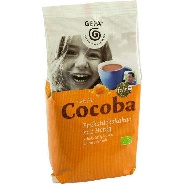 Cocoba, Frühstückskakao mit Honig