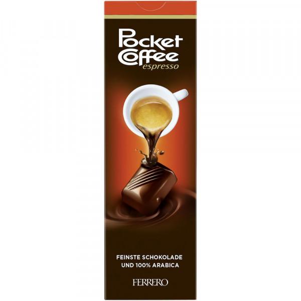 Pralinen aus Vollmilch- & Halbbitterschokolade mit flüssiger Espresso-Füllung