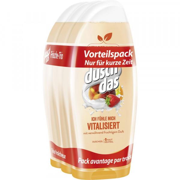 Duschgel, vitalisiert, 3 x 250ml (3 x 750 Milliliter)