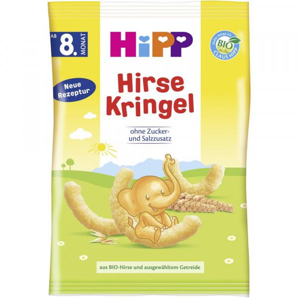 Kinder Hirse-Kringel