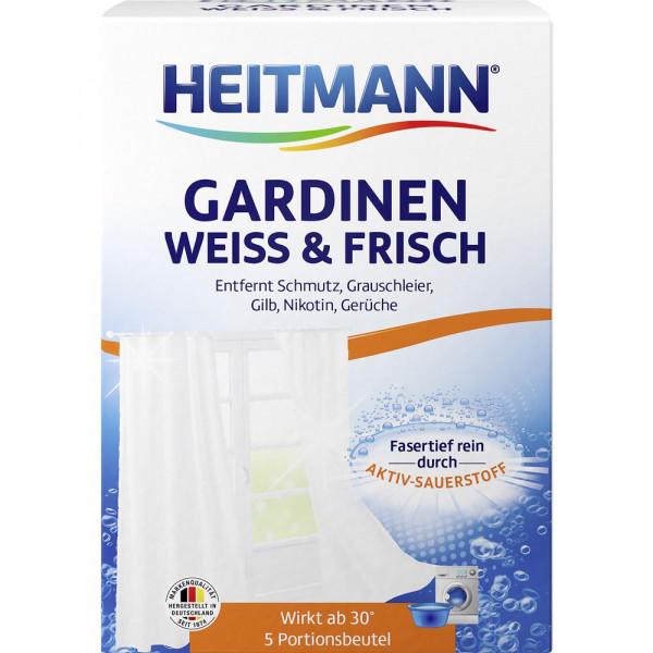 Gardinenwaschmittel, Weiß & Frisch
