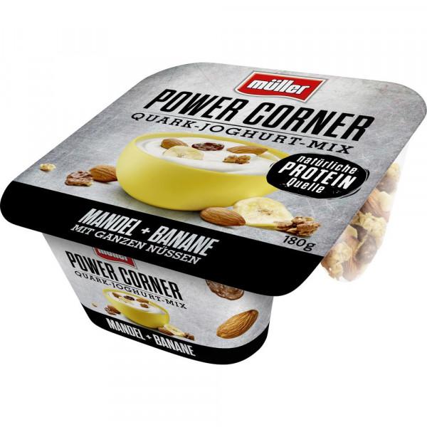 "Quark-Joghurt-Mix ""Power Corner"", Mandel-Banane"