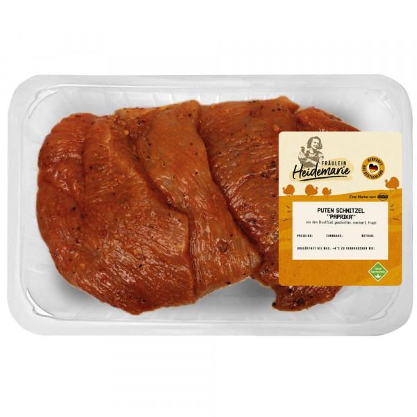Puten Schnitzel, Paprika