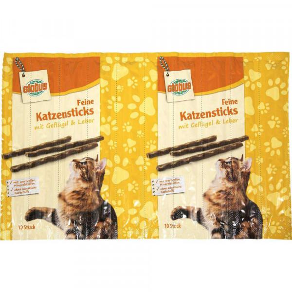 Katzensticks, Geflügel-Leber
