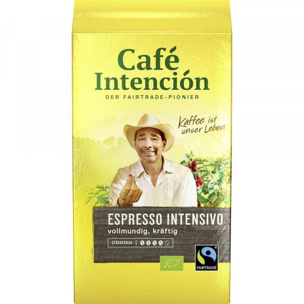 """Kaffee """"Intención ecológico Espresso"""" gemahlen"""