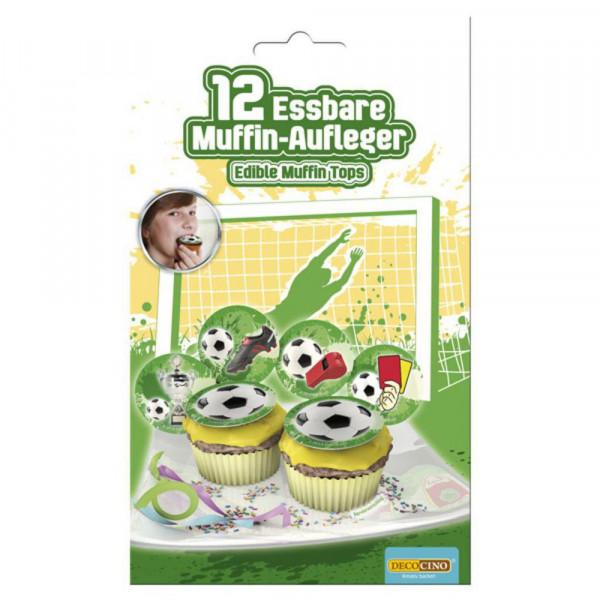 """Zuckerdekoration Muffin, """"Fußball"""""""