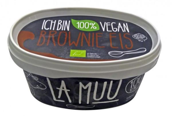 Brownie-Eis (vegan)