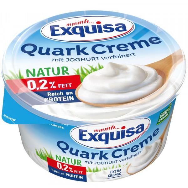 Quarkcreme 0,2% Fett, Natur