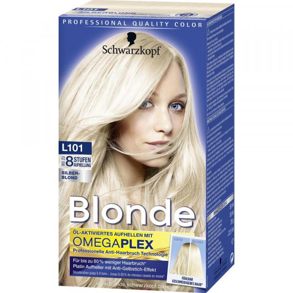 "Haarfarbe ""Aufheller"", L101 Silberblond"