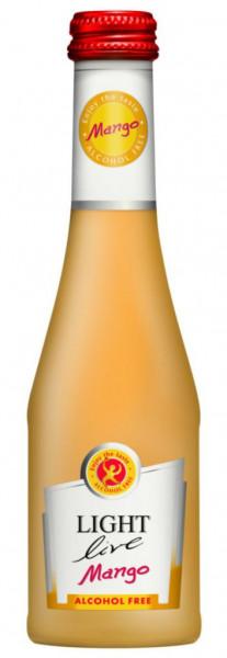 Mango aromatisiertes Getränk aus schäumendem alkoholfreiem Wein