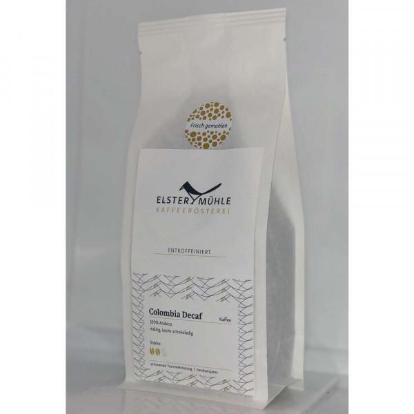 Kaffee Colombia Decaf, gemahlen