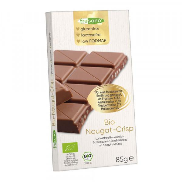 Bio Tafelschokolade, Nougat Crisp