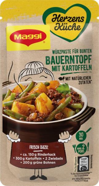"""Würzpaste """"Herzensküche"""", Bauerntopf mit Kartoffeln"""