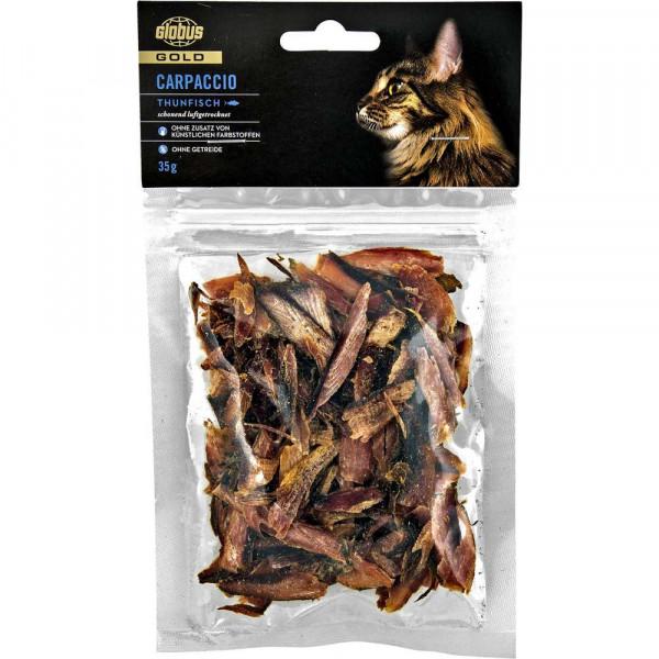 Katzen-Carpaccio mit Thunfisch