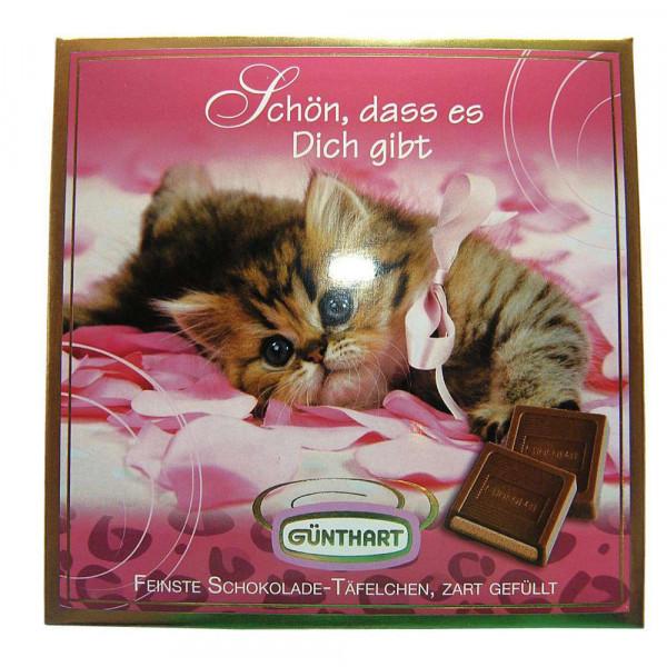 Pralinen-Präsent Katze