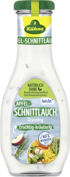 Salatdressing, Apfel-Schnittlauch