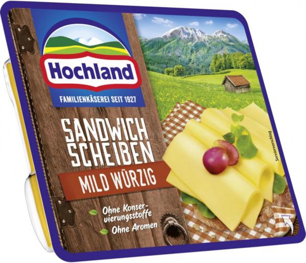 Sandwich Käsescheiben, mild-würzig